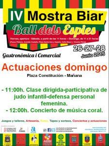 mostra-biar-actuaciones-#MostraBiar15-domingo-28-junio-2015