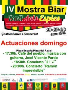 mostra-biar-#mostrabiar15-música-domingo-28-junio-2015