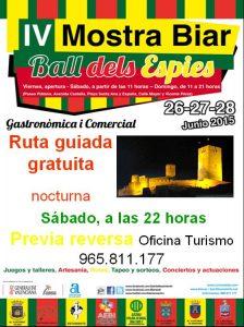 mostra-biar-ruta-guiada-nocturna-sabado-27-junio-2015